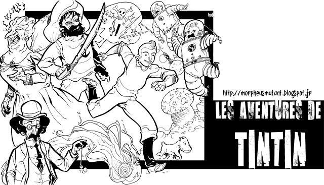 Les aventures de tintin et milou paperblog - Image de tintin et milou ...