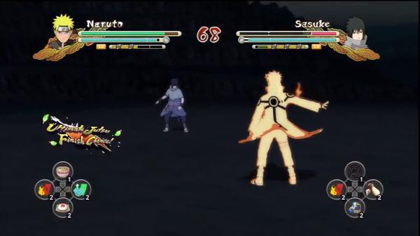 Naruto Shippuden Ultimate Ninja Storm 3: Naruto & Sasuke, en Gameplay