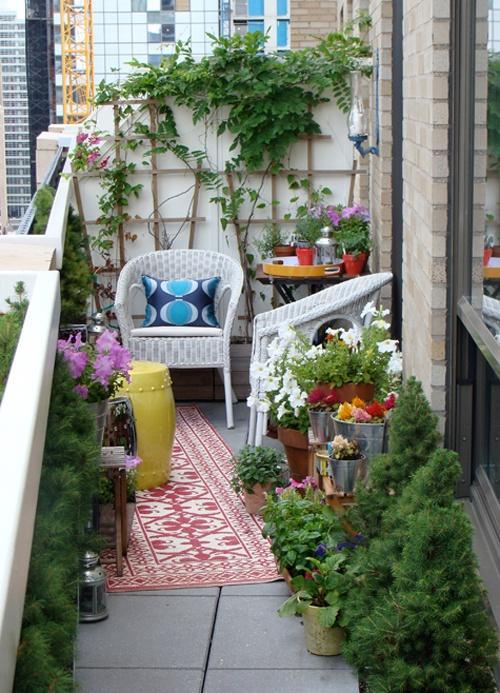 des plantes sur un balcon d couvrir. Black Bedroom Furniture Sets. Home Design Ideas