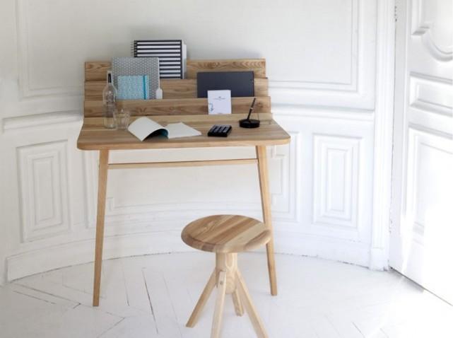 Tendance d co les petits bureaux voir for Bureau pour petit espace