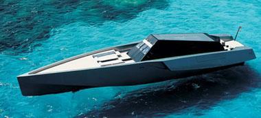 Le bateau le plus rapide du monde