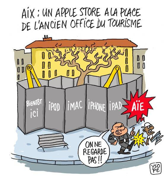 apple store aix en provence paperblog. Black Bedroom Furniture Sets. Home Design Ideas