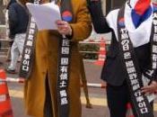 """jour Takeshima"" colère coréenne."
