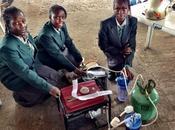 Nigéria générateur d'électricité fonctionnant l'urine