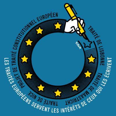 png dessin traites europeens Lisbonne Nice Maastricht Les promesses de Maastricht: aux oubliettes...