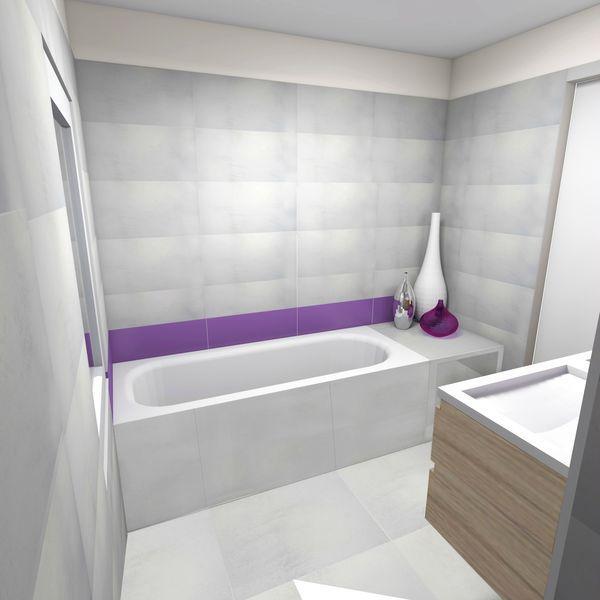 Projet salle de bain simiane collongue 13 paperblog for Projet salle de bain 3d