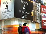 Samsung Teasing Time Square pour Galaxy