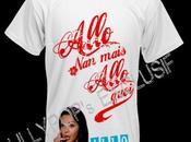 Anges Priceminister vend T-Shirts Allo Nabilla