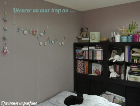 d corer un mur avec une guirlande de jolis pliages paperblog. Black Bedroom Furniture Sets. Home Design Ideas