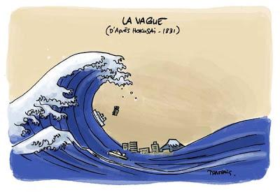 D 39 apr s la vague de hokusai d tournement 11 2013 paperblog - Vague coloriage ...