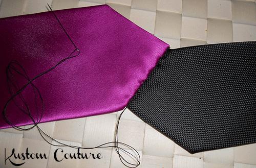 diy cravate customis e en ceinture paperblog. Black Bedroom Furniture Sets. Home Design Ideas