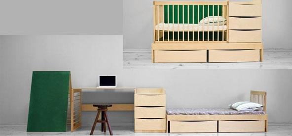 smart kids mini meubles multifonctions pour une chambre d enfant voir. Black Bedroom Furniture Sets. Home Design Ideas