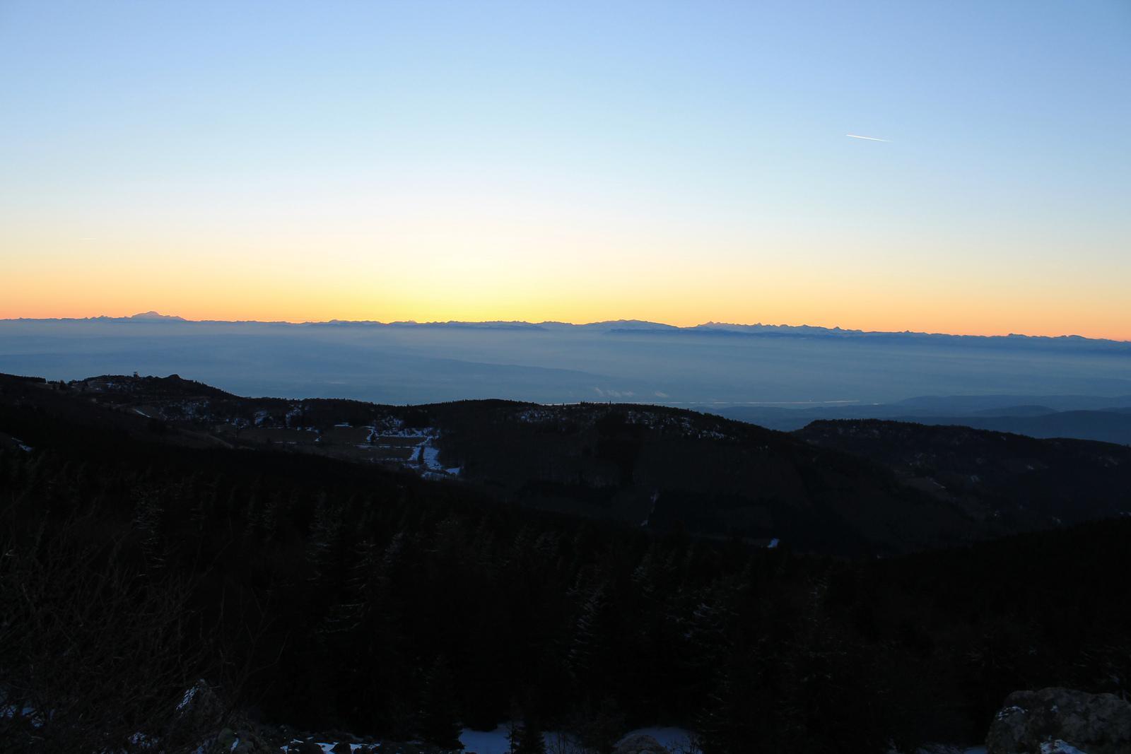Lever de soleil au pilat ski de fond en auvergne - Les coups de soleil se transforment ils en bronzage ...