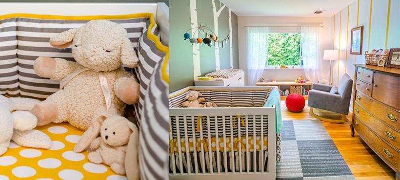 Inspiration d co pour la chambre de b b paperblog for Deco chambre bebe blog