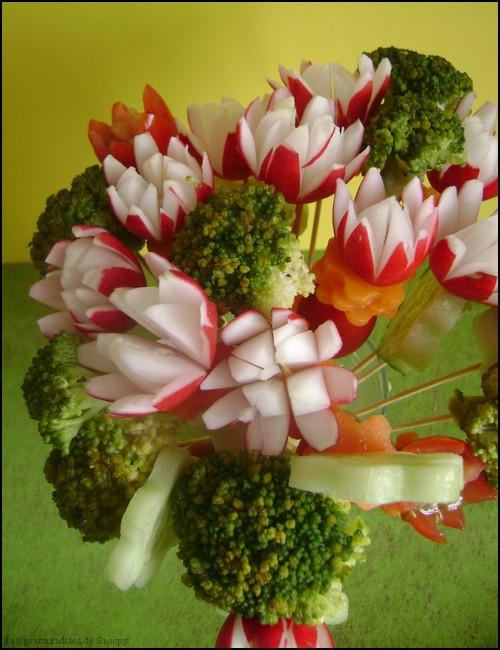 Bouquet de l gumes pour l 39 ap ritif paperblog for Blanchir legumes pour congeler