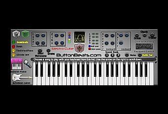 jeux de piano avec clavier softonic