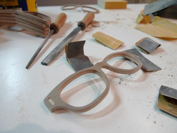 Lunettes En Bois France - M u00db designer de lunettes en bois made in France u00c0 Lire