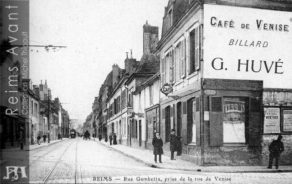 Restaurant Rue Gambetta Reims