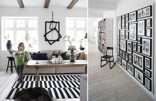 inspiration d co des cadres au mur paperblog. Black Bedroom Furniture Sets. Home Design Ideas