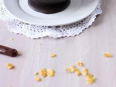 Nids chocolat l'espuma carambar fruits rouges