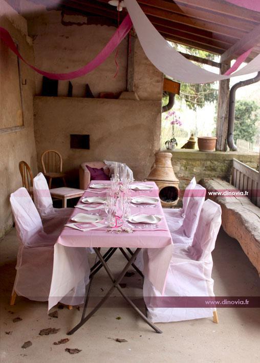 mariage en rose et blanc paperblog. Black Bedroom Furniture Sets. Home Design Ideas
