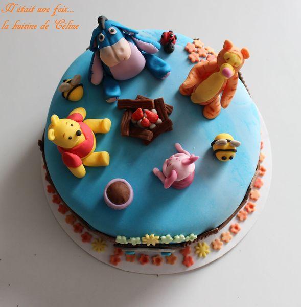 gateau winnie l ourson et ses amis winnie the pooh cake 192 lire