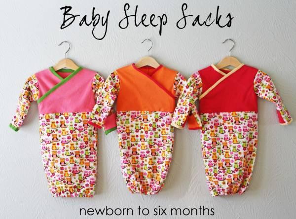 bebe sac dormir Patron gratuit : sac de couchage pour bébé