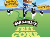 Free Cone glaces gratuites avril 2013