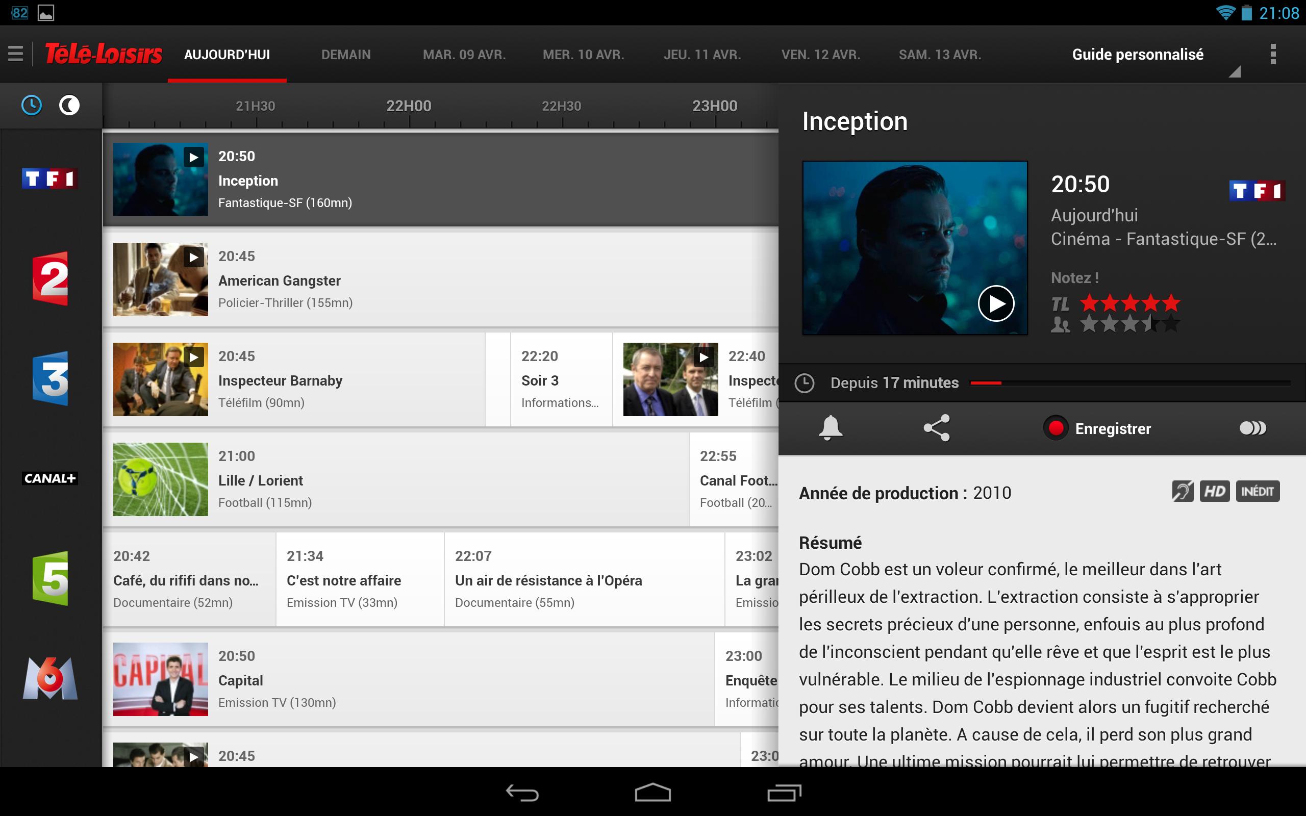 Les applications indispensables pour regarder la tv sur - Distance pour regarder tv ...