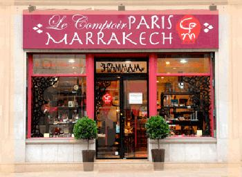 Spa boutique le comptoir paris marrakech ouvre ses for Salon paris marrakech