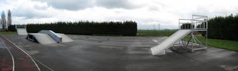 Spot : le skatepark de Vert-le-Grand (91)
