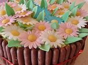 gateau bouquet fleurs