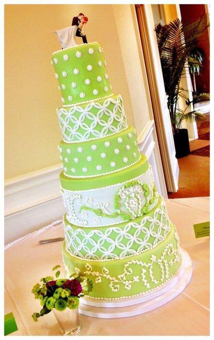 Decoration de mariage vert anis - Paperblog