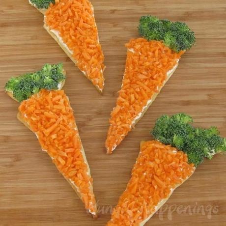 Recette roulette soupe carotte