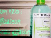 solution micellaire Bioderma Sébium purificateur peau grasse