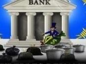 Opération Dépôt poubelles devant banques