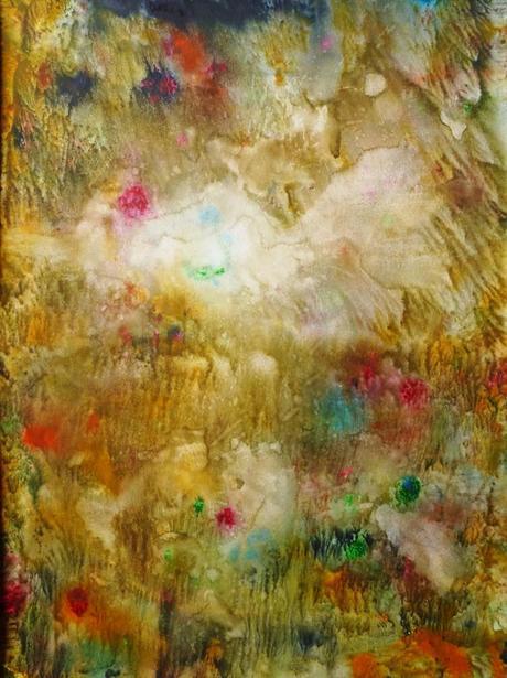 Jardin d eden abstraction aquarelle lire for Alexandre jardin joyeux noel