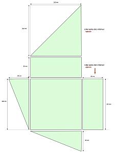 tuto boite range serviettes paperblog. Black Bedroom Furniture Sets. Home Design Ideas