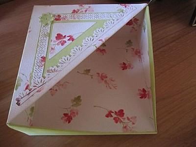 Tuto boite range serviettes paperblog - Tuto boite en carton ...