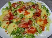Salade tiède pommes terre sardines