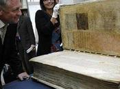 """Codex Gigas, livre énorme l'on appelle aussi 'Bible diable'"""""""