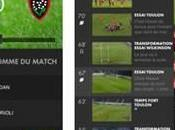 CANAL+ lance application Rugby