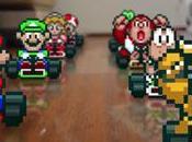 Super Mario Kart mode