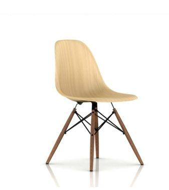 chaises eames en bois paperblog. Black Bedroom Furniture Sets. Home Design Ideas
