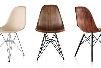 chaises eames en bois paperblog. Black Bedroom Furniture Sets. Home Design Ideas