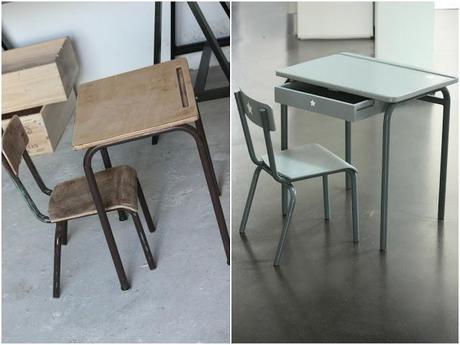 relooking d 39 un bureau pour enfant en bois d couvrir. Black Bedroom Furniture Sets. Home Design Ideas