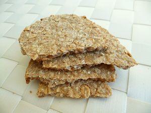 biscuits amande croustillants complets aux flocons 5 c r ales sans sucre ni beurre ni oeufs. Black Bedroom Furniture Sets. Home Design Ideas
