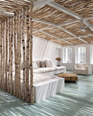 Bois de bouleau et d co voir - Decoration de noel exterieur en bois ...