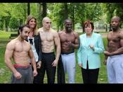 Roselyne Bachelot s'entraîne avec Punishment Team