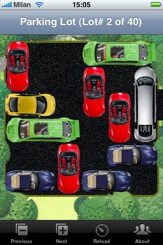 Test jeux Parking Lot